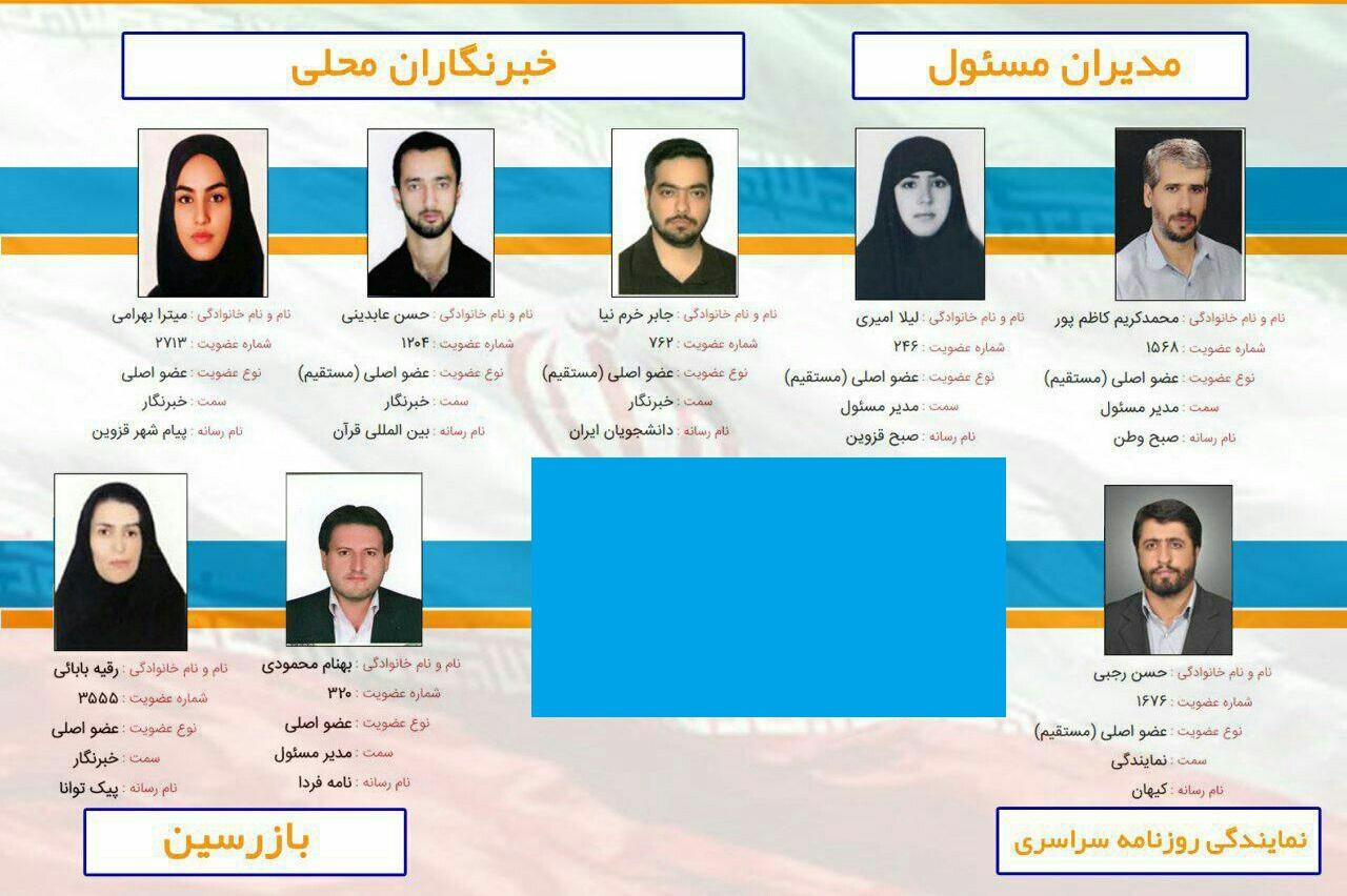 نتایج چهارمین دوره انتخابات خانه مطبوعات قزوین اعلام شد