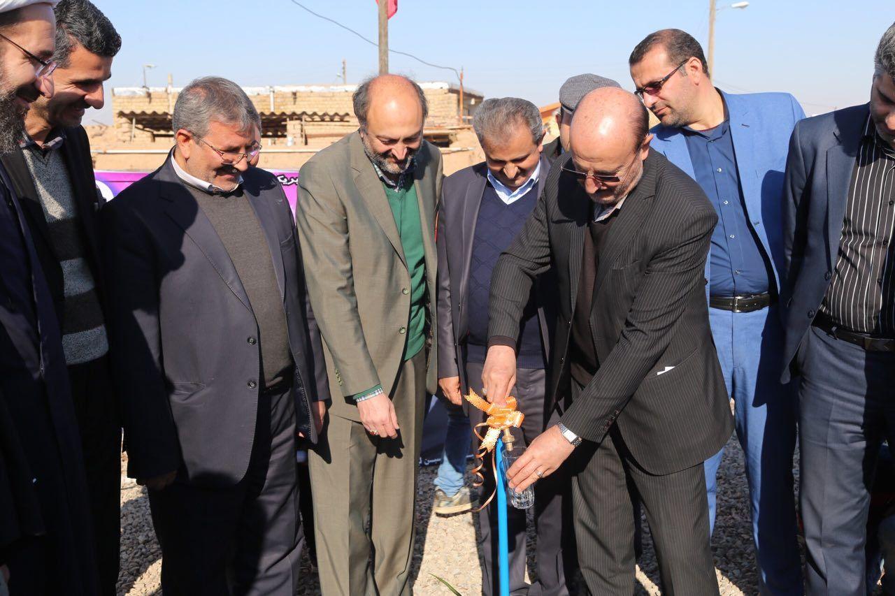 مجتمع آبرسانی شهید حججی آبیک به بهرهبرداری رسید+تصاویر