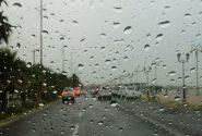 طراوت اولین نم نم باران پاییزی / کاهش دمای هوا تا ۱۰ درجه