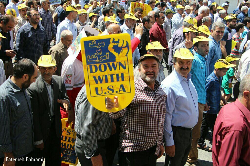 حضور پرشور مردم آبیک در راهپیمایی روز جهانی قدس